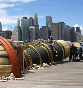 Фото №1 - Лондон и Нью-Йорк соединили телектроскопом
