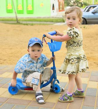 Фото №2 - Первый раз в детский сад!