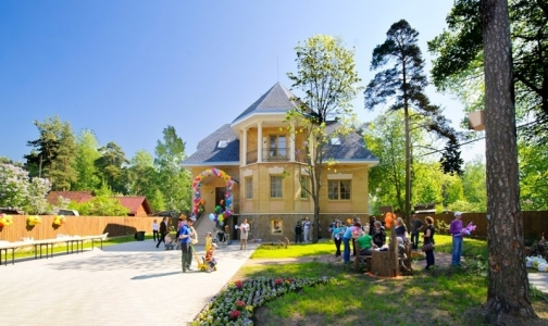 Фото №1 - В поселке Ольгино после ремонта откроют детский Центр паллиативной помощи