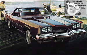 Первые подушки безопасности появились на Chevrolet Impala 1973 года и других моделях General Motors…