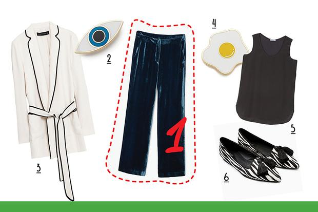 Фото №3 - С чем носить бархатные брюки