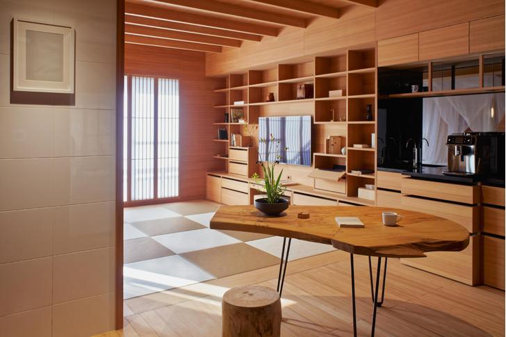 Фото №4 - Аскетичная квартира 63 м² на Тайване