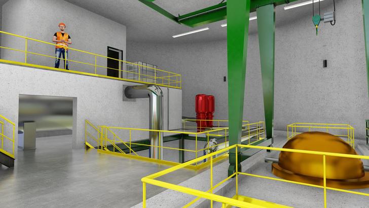 Фото №1 - Опубликованы чертежи и план постройки небольшой атомной электростанции