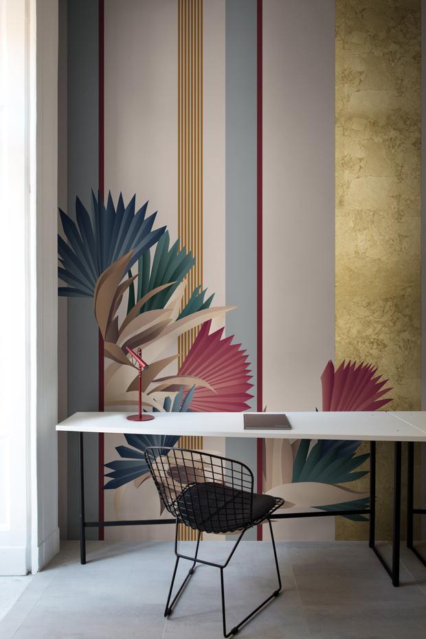 Обои Cabana, коллекция Esotismi, дизайн Кристины Челестино для Misha.