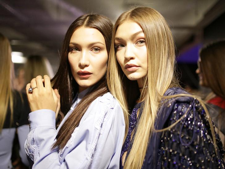 Фото №1 - Джиджи и Белла Хадид: сестры-соперницы