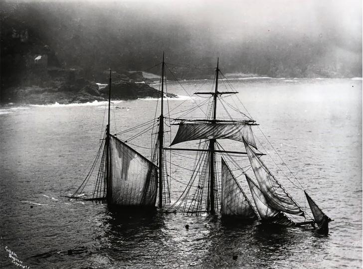 Фото №11 - Не повезло: старинные фотографии кораблекрушений
