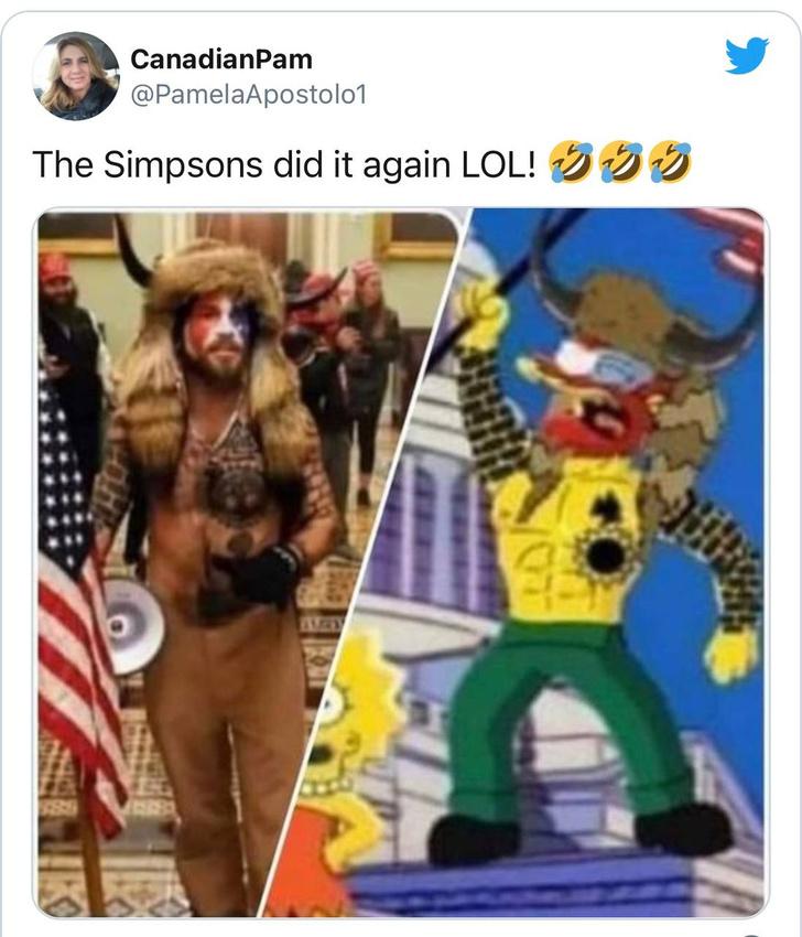 Фото №5 - Этого не было в «Симпсонах». Как сериалу начали приписывать пророчества, которых он не делал