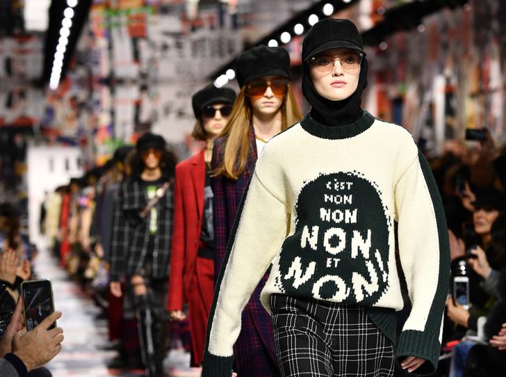 Фото №1 - 5 трендов из 60-х, которые возвращаются в коллекции Dior FW18-19