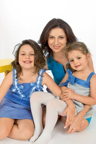 Фото №2 - Алиса Хазанова, Мина и Эва: мамины дочки