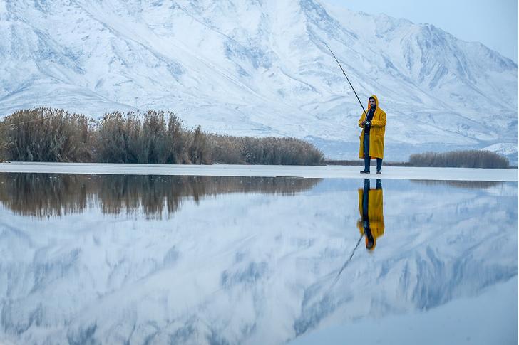Фото №1 - Зимняя рыбалка на озере Ван