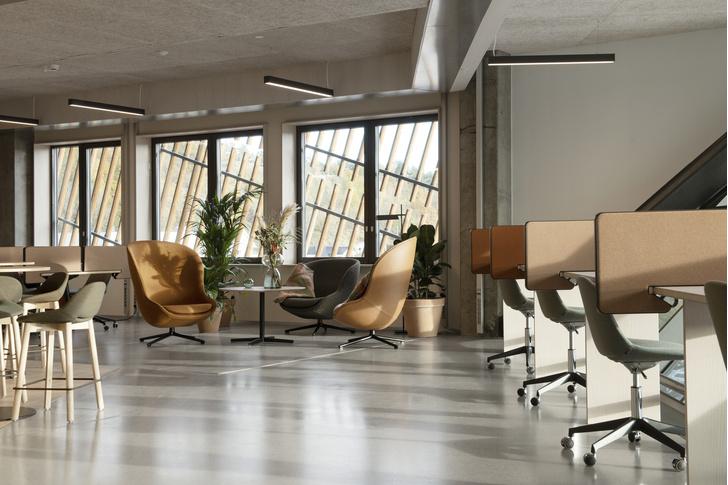 Фото №6 - Энергопозитивный офис по проекту Snøhetta в Норвегии