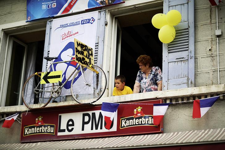Фото №2 - Среди «горных королей»: репортаж с велогонки «Тур де Франс»