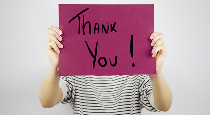 Я не могу сказать «спасибо»
