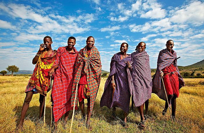 Фото №1 - Верные многоженцы: масаи