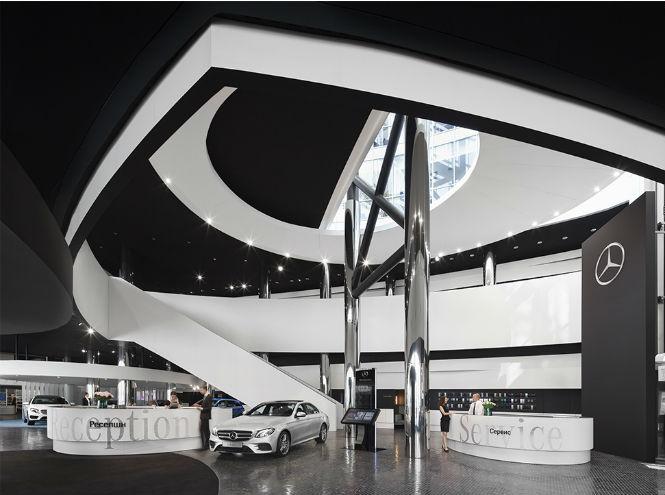 Фото №1 - Открытие нового шоурума Mercedes-Benz