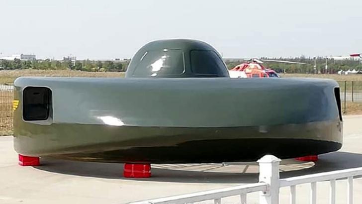 Фото №2 - Китай представил военную летающую тарелку