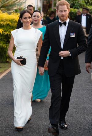 Фото №129 - Все наряды первого зарубежного тура Меган Маркл в Австралию и Новую Зеландию