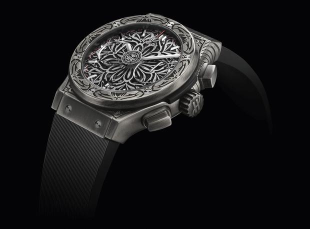 Фото №3 - Новые часы Hublot, дизайн которых вдохновлен… мандалой