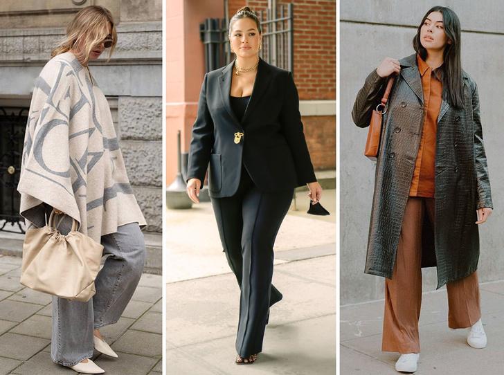 Фото №1 - Осенний гардероб для девушек plus size: 8 вещей на любой случай