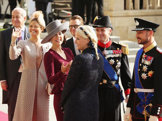 Фото №67 - Самые забавные моменты на королевских свадьбах (истории в фотографиях)