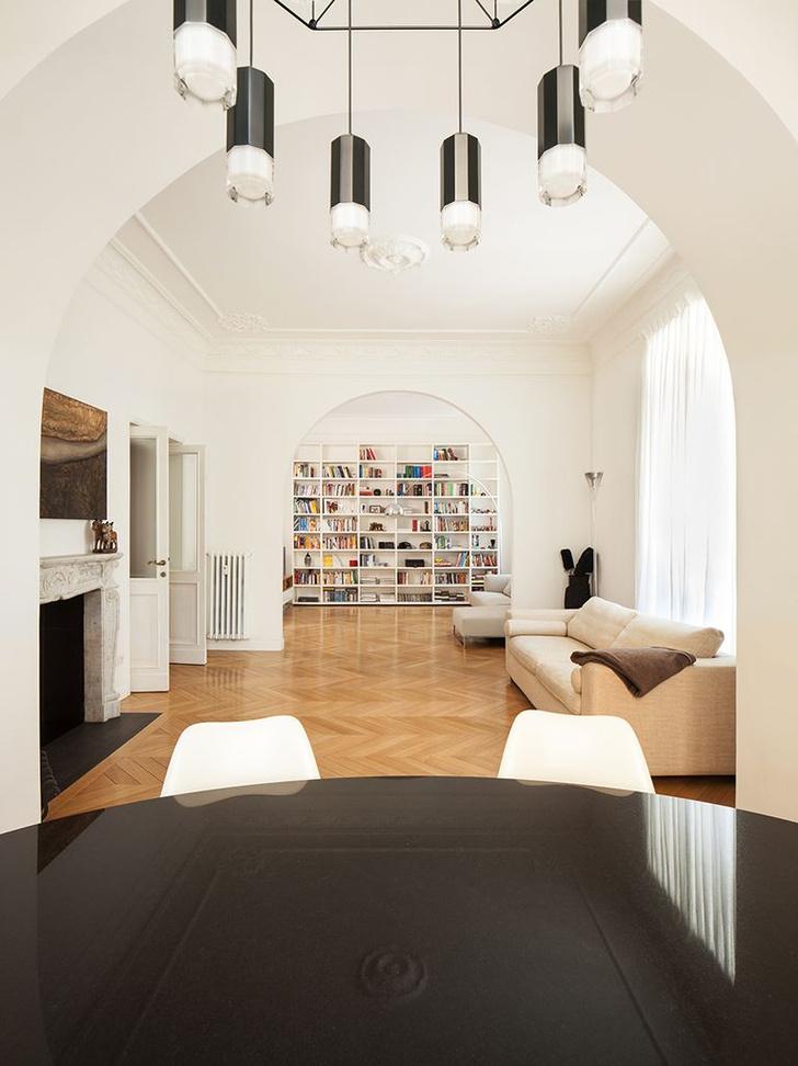 Фото №2 - Современная квартира в историческом доме в Риме
