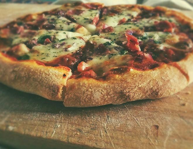 Пицца с овощами рецепт