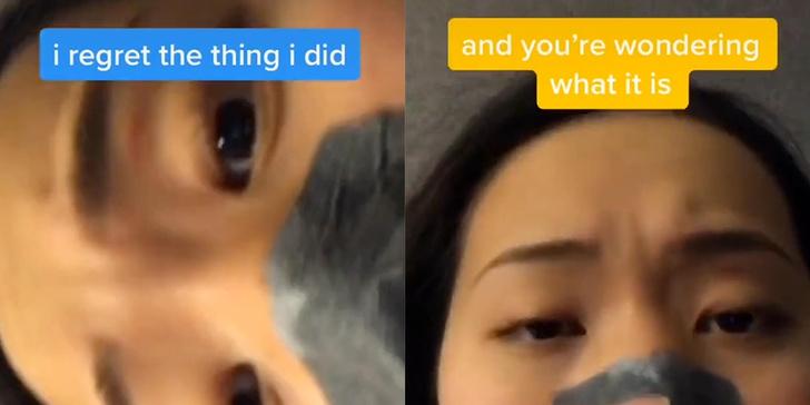 Фото №1 - Хит недели на TikTok: у девушки во рту застряла губная гармошка