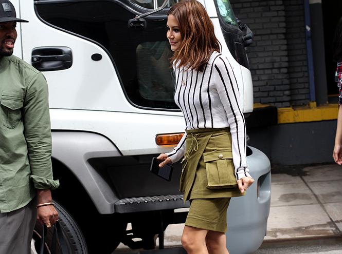 Фото №14 - Образы гостей недели моды в Нью-Йорке в прошедшие выходные
