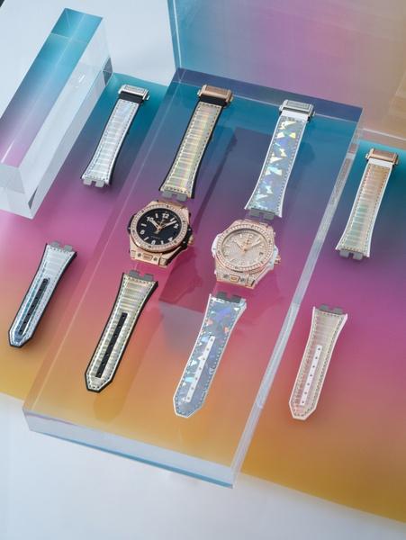 Фото №1 - Одни часы — десяток вариантов: Hublot выпустил коллекцию ремешков для моделиBig Bang