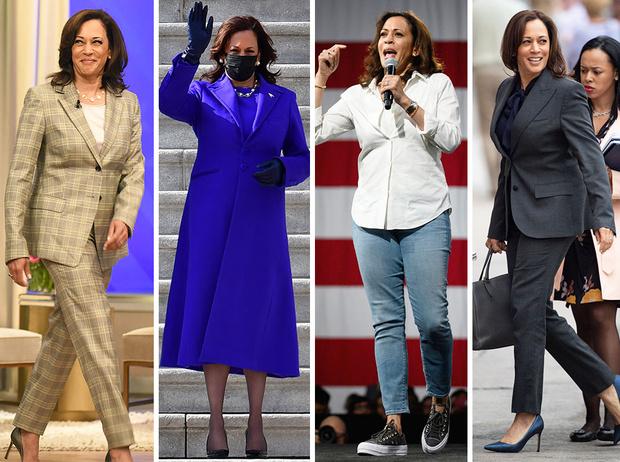Фото №1 - Ролевая модель: как одевается вице-президент США Камала Харрис