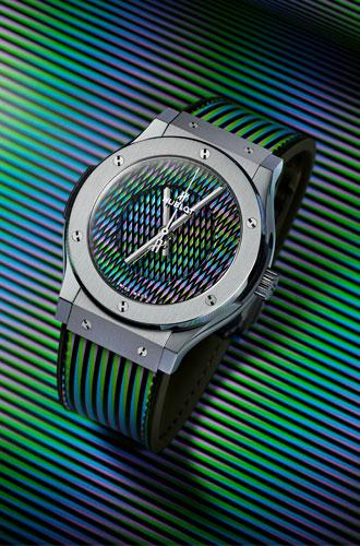 Фото №3 - Оптические иллюзии: Hublot представили новаторскую модель Classic Fusion Cruz-Diez