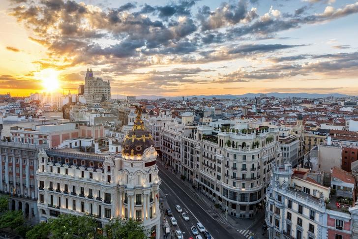 Фото №1 - Сердце Испании: Мадрид в 10 открытках и фактах