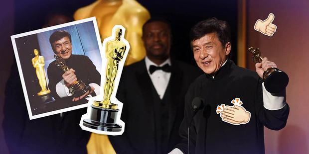 Фото №1 - Джеки Чан получил долгожданного «Оскара»