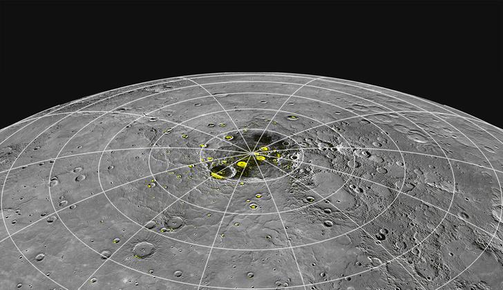 Фото №1 - На Меркурии нашли большие запасы льда