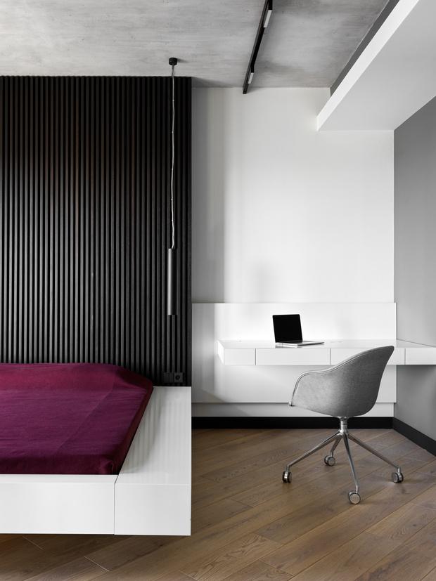 Фото №3 - Апартаменты в стиле минимализм на Маяковской