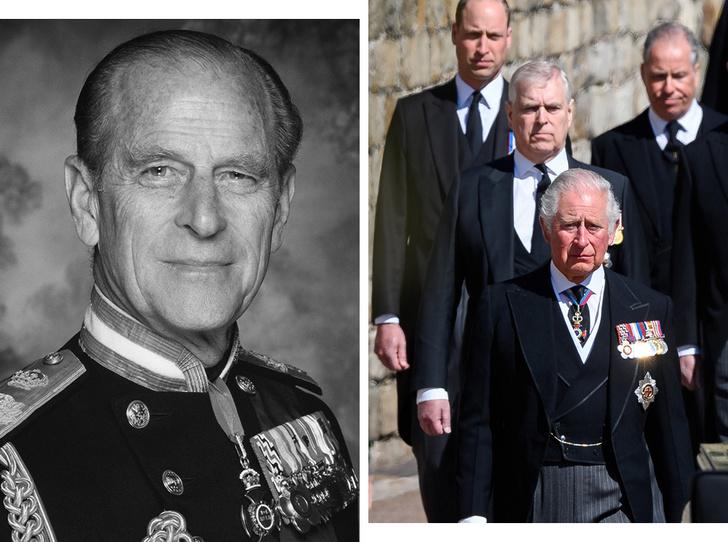 Фото №1 - Последний путь принца Филиппа: как королевская семья прощалась с любимым мужем, отцом и дедушкой
