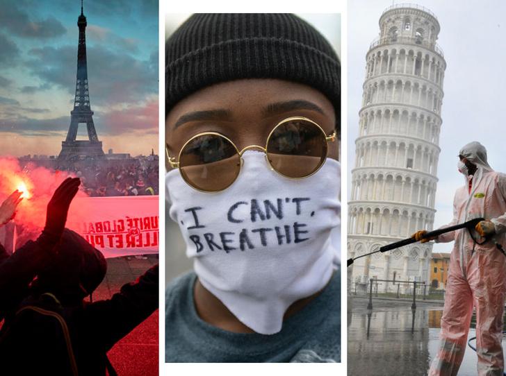 Фото №1 - 2020 годв фотографиях: каким мы его запомним