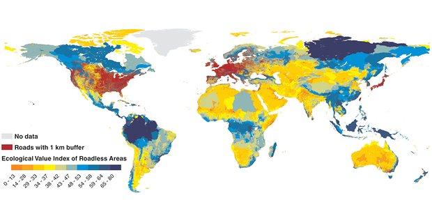 Фото №2 - Сибирь попала на всемирную карту бездорожья