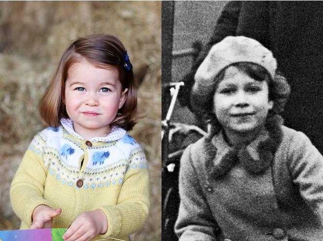 Фото №6 - Копия прабабушки: Шарлотта все больше похожа на Королеву