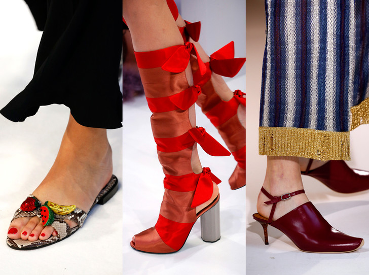 Фото №1 - Самая модная обувь сезона весна-лето 2017: форма и типы