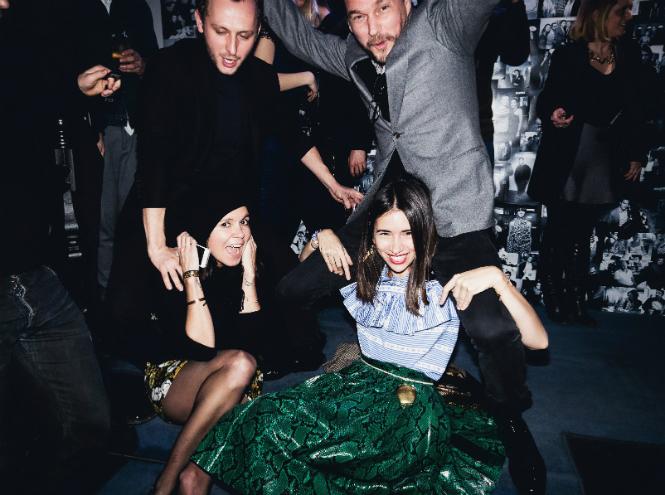 Фото №1 - Вечеринка Martell Paris Style