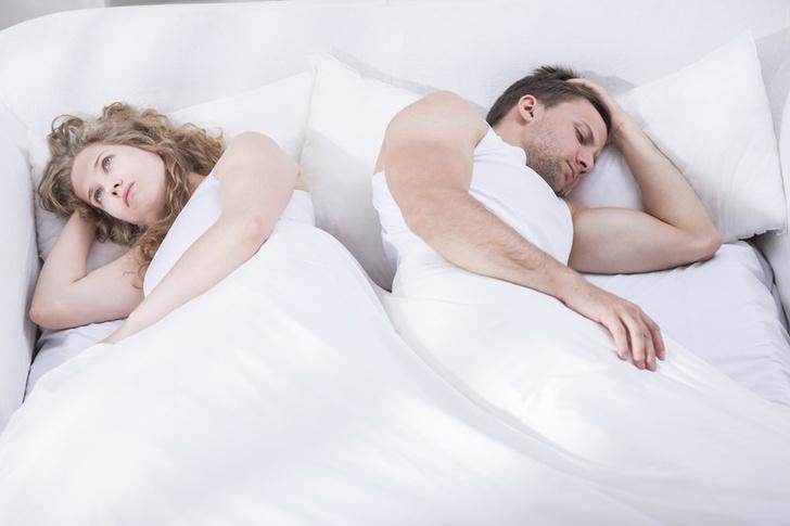 Фото №1 - Почти половине женщин секс портит настроение