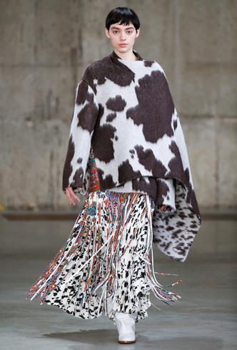 Фото №4 - Коровий принт – новый модный конкурент «леопарда» и «зебры»