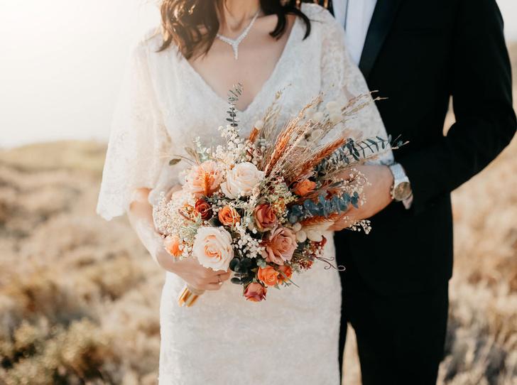 Фото №6 - Свадебный букет своими руками: советы флористов