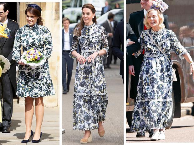 Фото №1 - 3 в 1: как британские модницы носят похожие платья Erdem