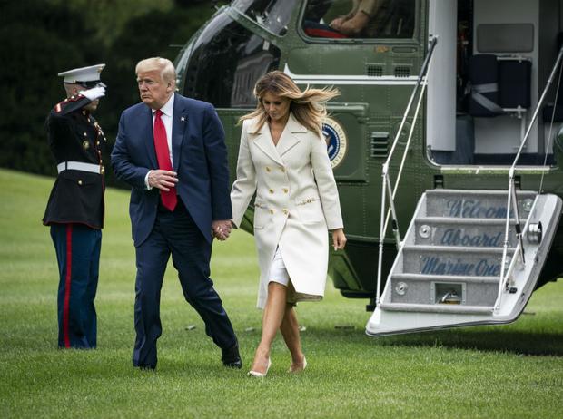 Фото №2 - Как день рождения Дональда Трампа подтвердил проблемы в браке с Меланией