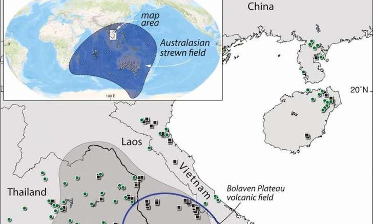 Фото №1 - Следы падения огромного метеорита найдены в Лаосе