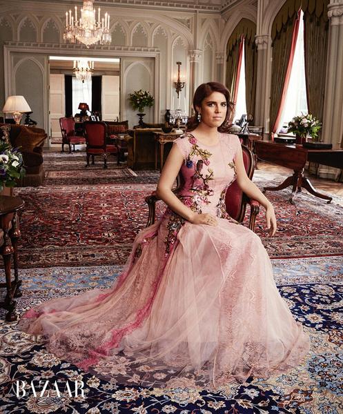 Фото №1 - Принцесса Евгения стала героиней британского Harper's Bazaar