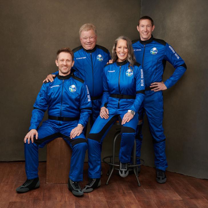 Фото №1 - 90-летний актер из сериала Star Trek стал самым пожилым астронавтом в истории