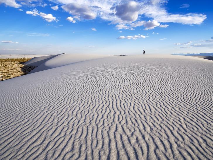Фото №1 - Место дня. Пустыня Белых Песков в долине Тулароса (США)